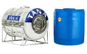 Nên mua bồn nước inox hay bồn nhựa Tân Á Đại Thành?